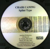V-0014 Splint Seat Weaving DVD