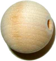 W1-6261 Round Bead - Maple - 3/4""
