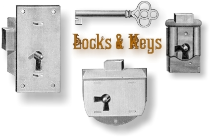 Antique Locks and Keys - Replacement Locks And Keys For Antique Furniture